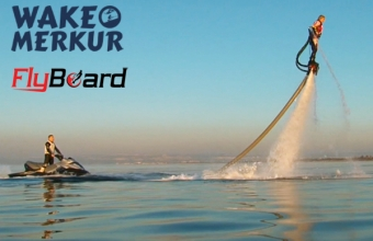 FlyBoard test day, exhibice